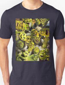 Shrek Collage  Unisex T-Shirt