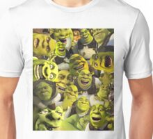 Shrek Collage  Unisex T-Shirt