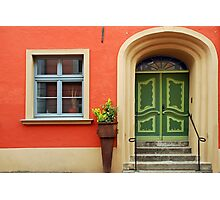 House in Stralsund - Germany Photographic Print