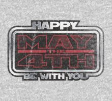 Happy May the 4th! (Grunge) Kids Tee