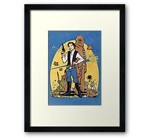 The Smuggler Framed Print