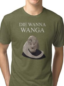Bib Fortuna: Die Wanna Wanga: White Version Tri-blend T-Shirt
