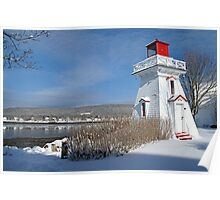 Annapolis Royal Lighthouse Poster