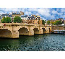 Pont de la Concorde, Paris Photographic Print
