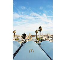 Can't Avoid the Golden Arches Photographic Print