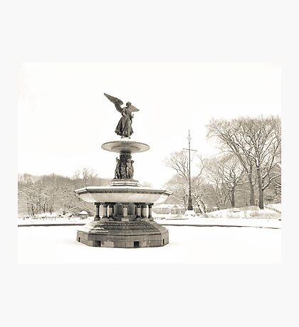 Angel of the Waters - Bethesda Fountain - Central Park Photographic Print