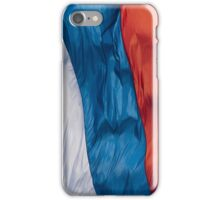 Waving Flag of Russia iPhone Case/Skin