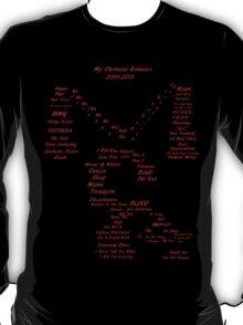My Chemical Romance Tribute Shirt T-Shirt