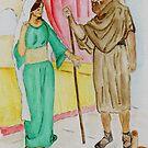Elisha and the Shunammite Woman  ..  2 Kings 4:8-37 by Anne Gitto