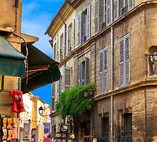 Avignon side street by ltm3photography