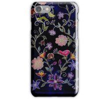 Folk Flowers iPhone Case/Skin