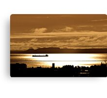 The Sleeping Giant Thunder Bay Canvas Print