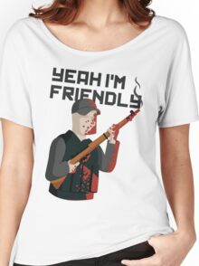 Yeah I'm Friendly Women's Relaxed Fit T-Shirt