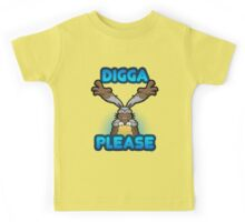 Digga Please! Kids Tee
