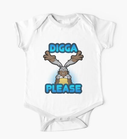 Digga Please! One Piece - Short Sleeve