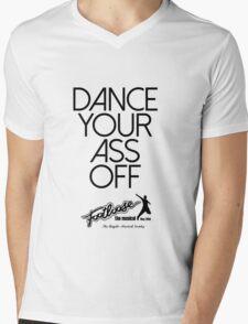 Footloose - Dance Your Ass Off Mens V-Neck T-Shirt