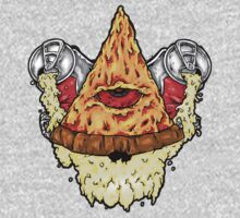 All Seeing Pizza Kids Clothes