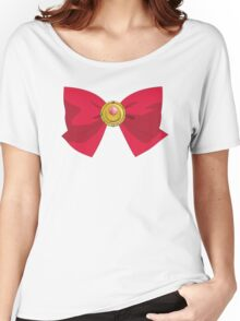 Sailor Moon - Brooch/Ribbon Women's Relaxed Fit T-Shirt