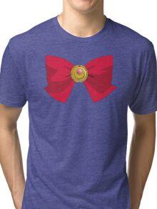 Sailor Moon - Brooch/Ribbon Tri-blend T-Shirt