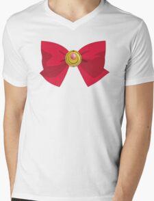 Sailor Moon - Brooch/Ribbon Mens V-Neck T-Shirt