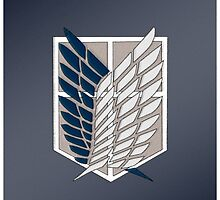 Survey Corps Wings by KoiFishie