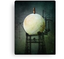 Architect of the Moon Canvas Print