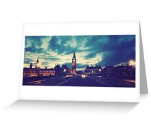 London City Greeting Card