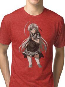 Haiyore! Nyaruko-san - Nyaruko - Cute - Anime Tri-blend T-Shirt