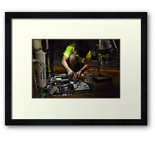 A Jacob in Motion Stays in Motion Framed Print