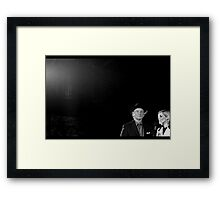 Your Mind Is Elsewhere Right Now, Isn't It? Framed Print