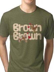 Brown Chicken Brown Cow Tri-blend T-Shirt