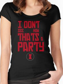 I'm Bringin' The Party to You Women's Fitted Scoop T-Shirt