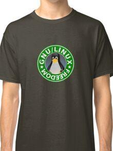 Tux : GNU/LINUX FREEDOM Classic T-Shirt