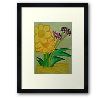 Afternoon Orchids Framed Print