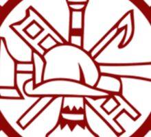 Fire Department Sticker