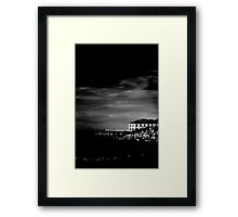 East Coast Relic - Tathra Wharf Framed Print