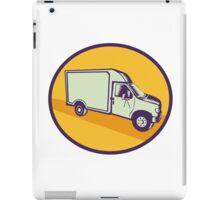 Closed Delivery Van Woodcut iPad Case/Skin