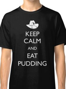Walking Dead - Keep Calm and Eat Pudding Carl Classic T-Shirt