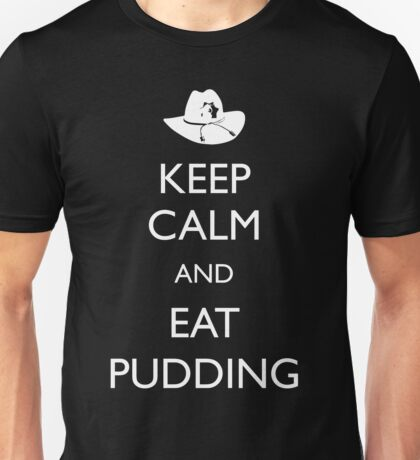 Walking Dead - Keep Calm and Eat Pudding Carl Unisex T-Shirt