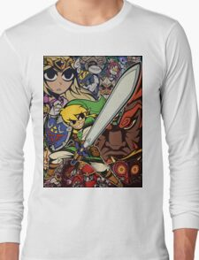 The Legend Of Zelda Long Sleeve T-Shirt