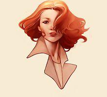 Redhead Woman by kasiaslupecka