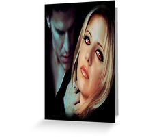 Buffy the Vampire Slayer - Bangel Greeting Card