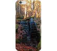 Water wheel in the wood | architectural photography iPhone Case/Skin