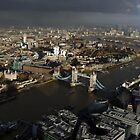 View from The Shard, London by berndt2