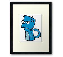 DigiDoodles: Levi Framed Print