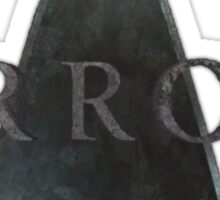 Arrow Logo, until they release official merchindise. Sticker
