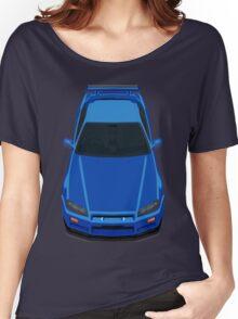 Nissan Skyline GTR R34 Women's Relaxed Fit T-Shirt