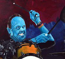 Lars Ulrich, Metallica by Boaz