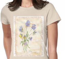 Viola oderata, oh sweet Violet! - Botanical Womens Fitted T-Shirt