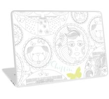 Faces Laptop Skin